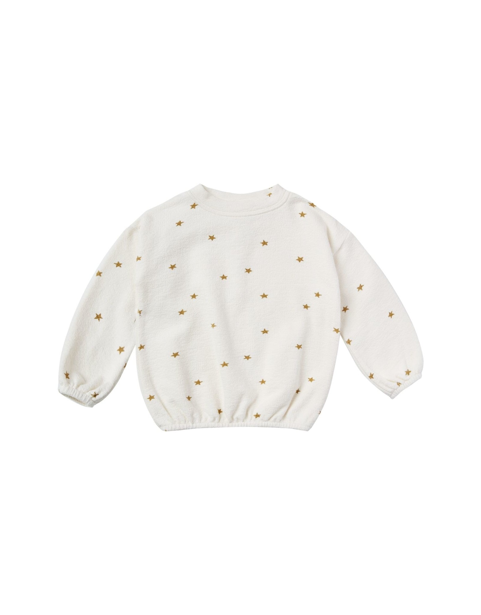 Rylee and Cru star slouchy pullover- ivory