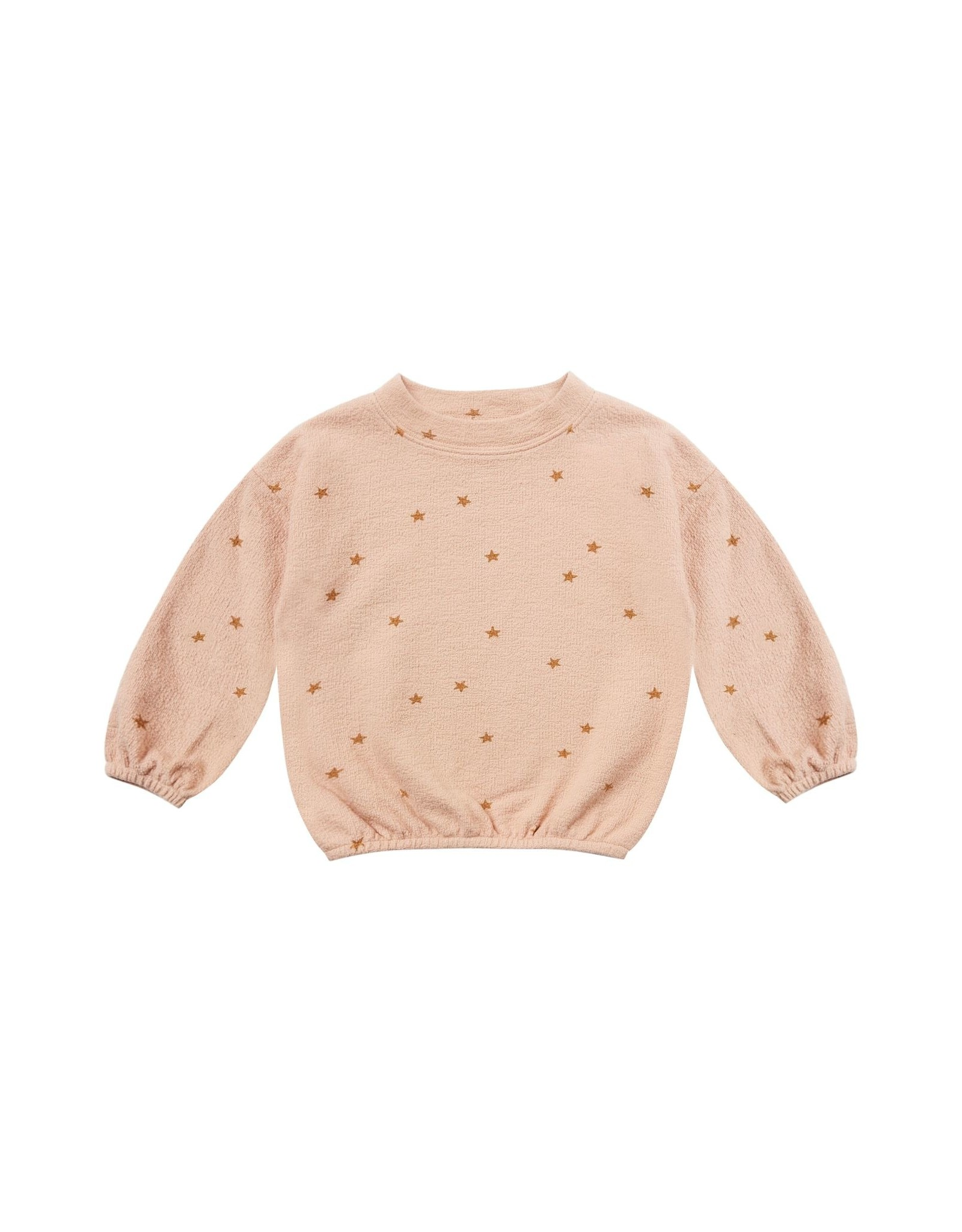 Rylee and Cru star slouchy pullover- rose