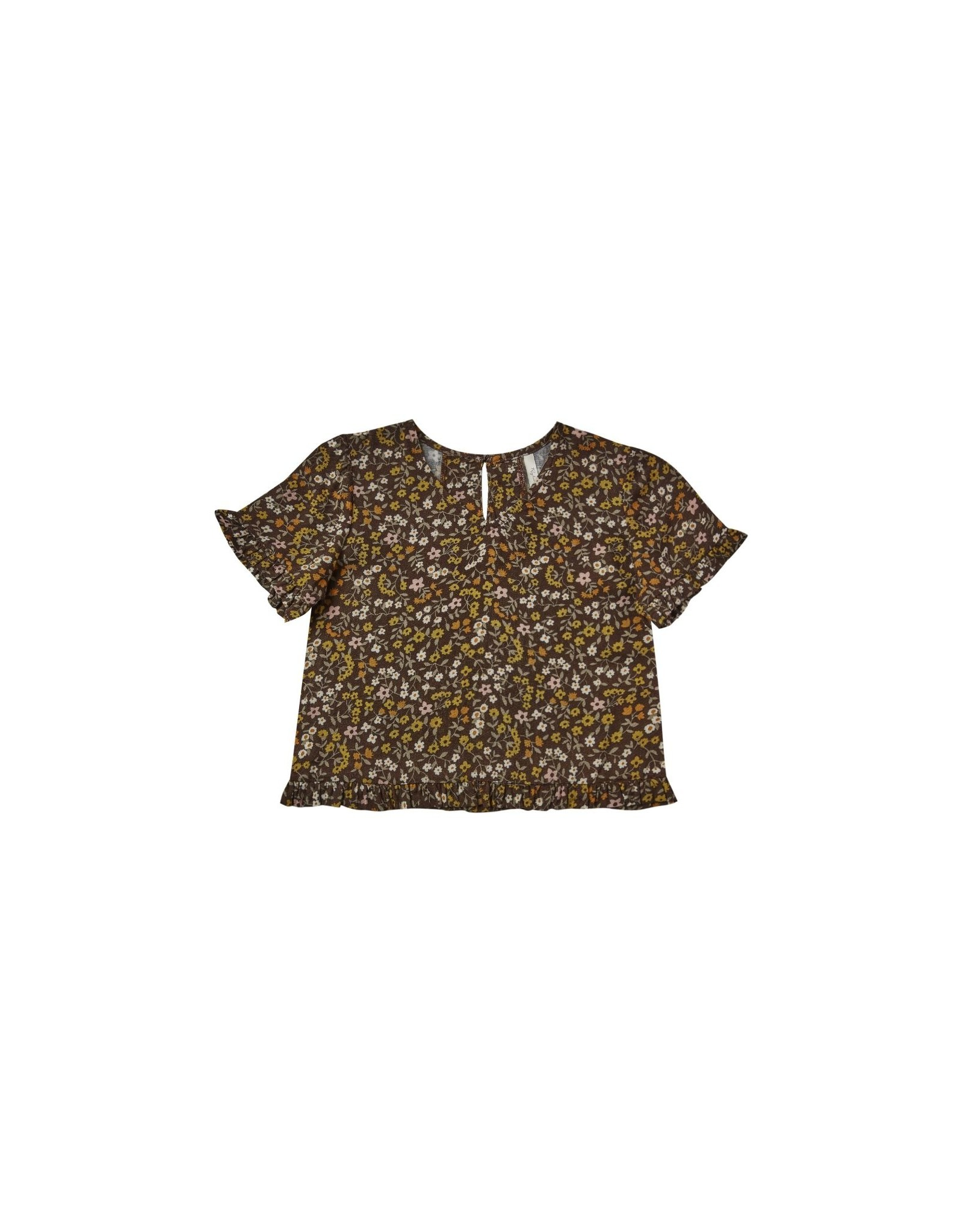 Rylee and Cru floral rory top