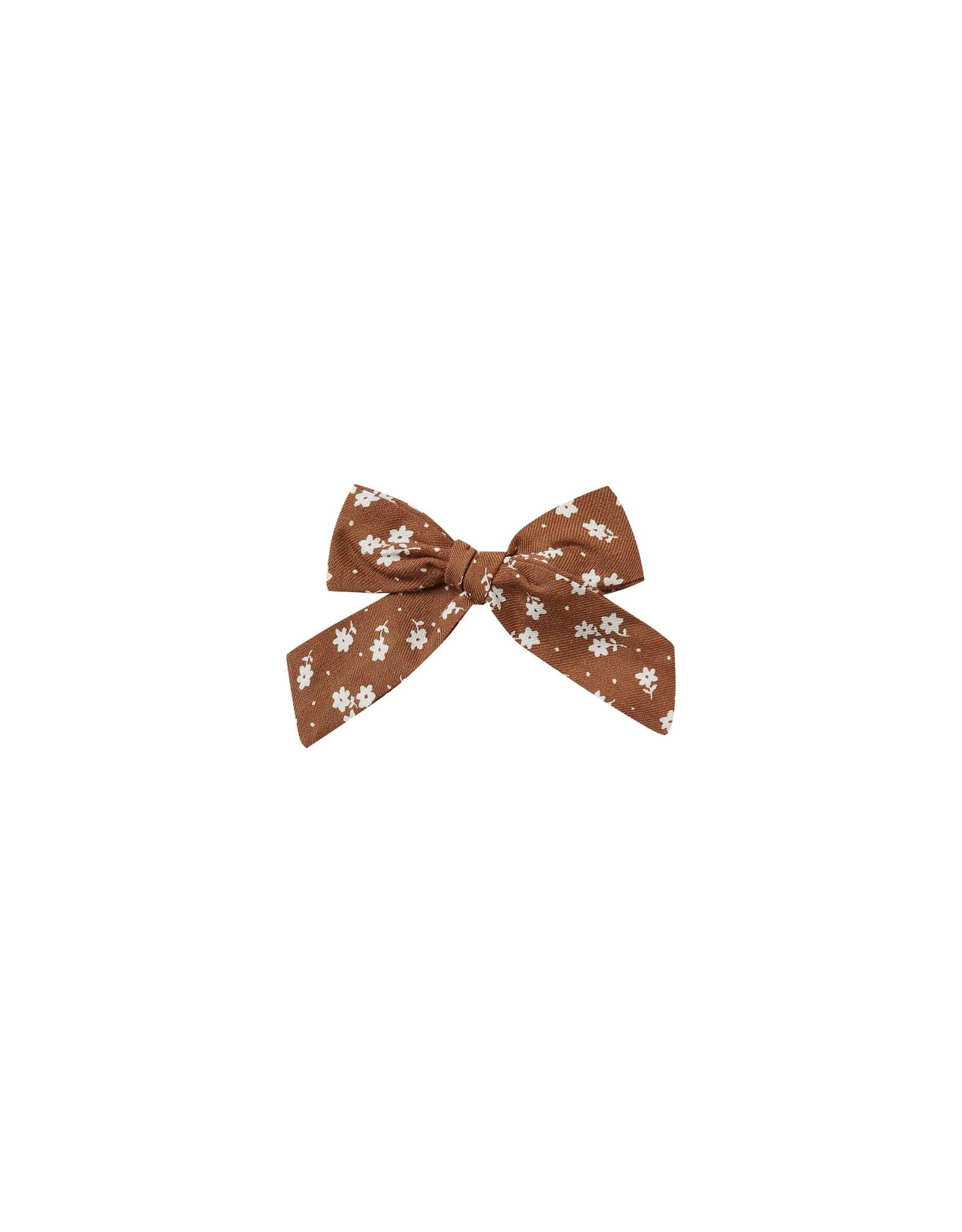 Rylee and Cru girl bow- cinnamon