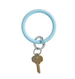 Big O Key Ring sweet carolina blue silicone