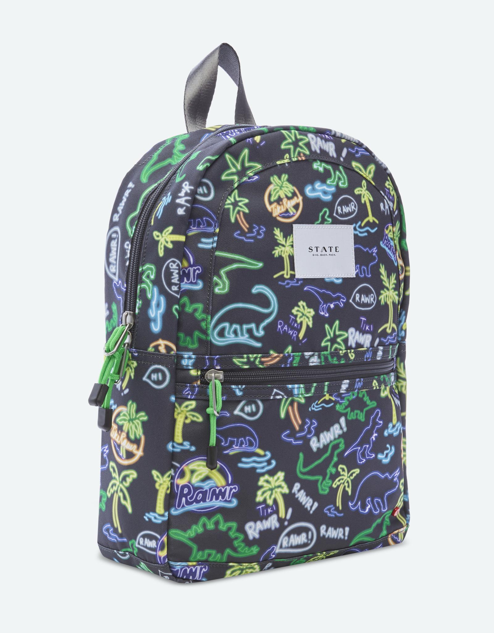 State Bags mini kane- neon dino