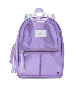 State Bags mini kane metallic- purple multi