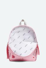 State Bags mini kane metallic- pink/silver