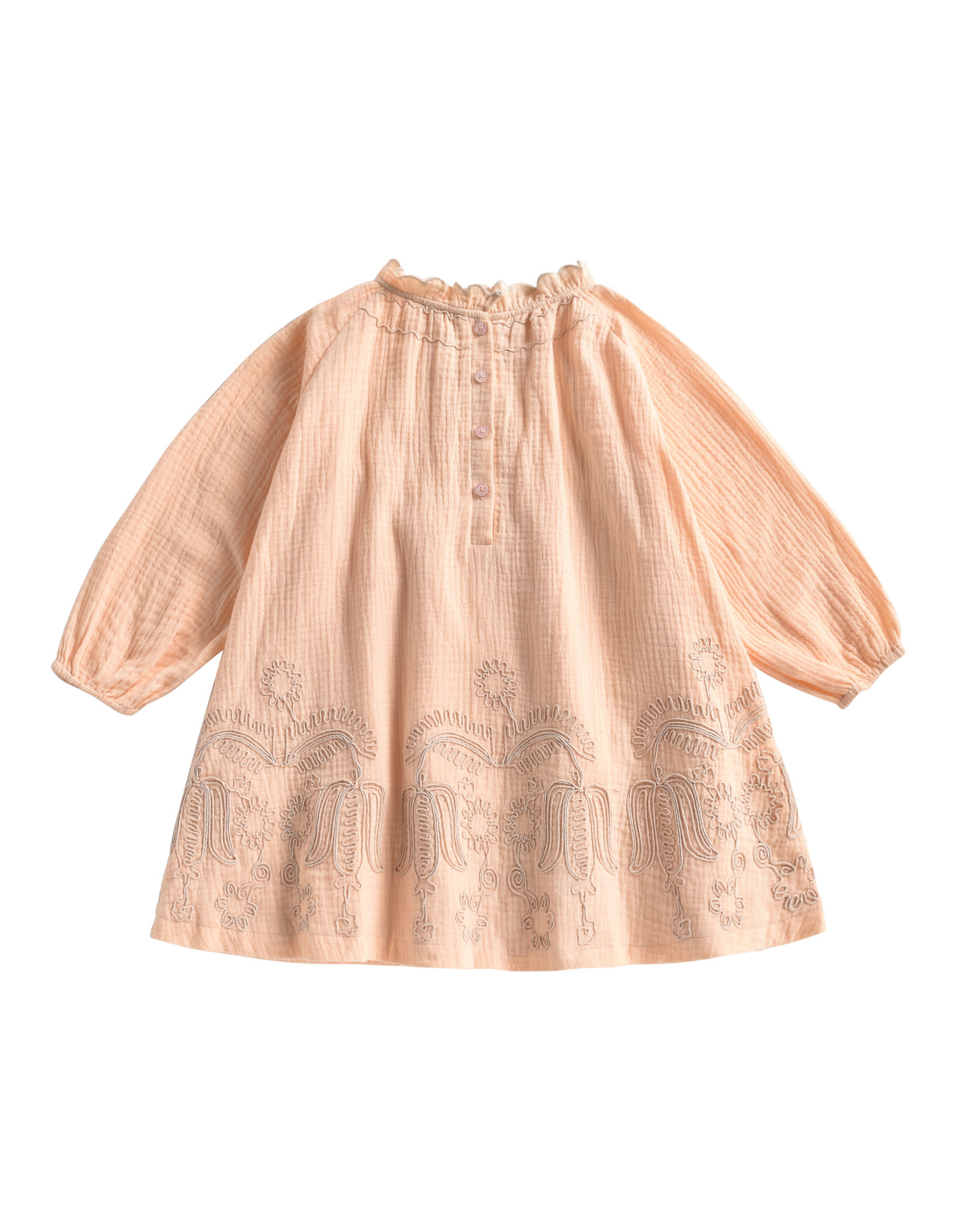 Louise Misha suenna dress- blush