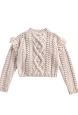 Louise Misha sighina sweater- cream