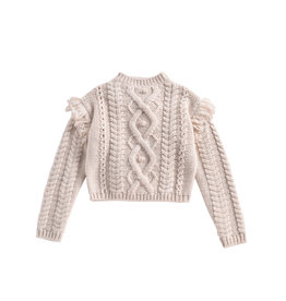 Louise Misha sighina sweater- cream