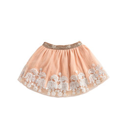 Louise Misha ivanka skirt- blush