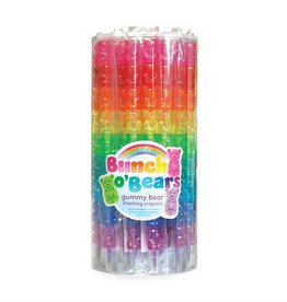 OOLY gummy bears stacking crayons