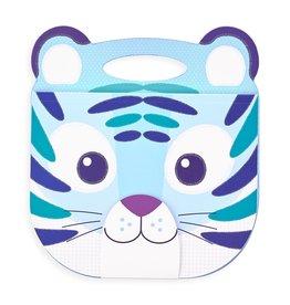 OOLY carry along sketchbook tiger