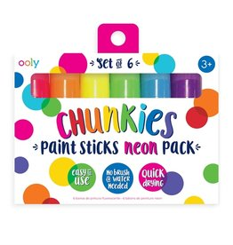 OOLY chunkies neon paint sticks