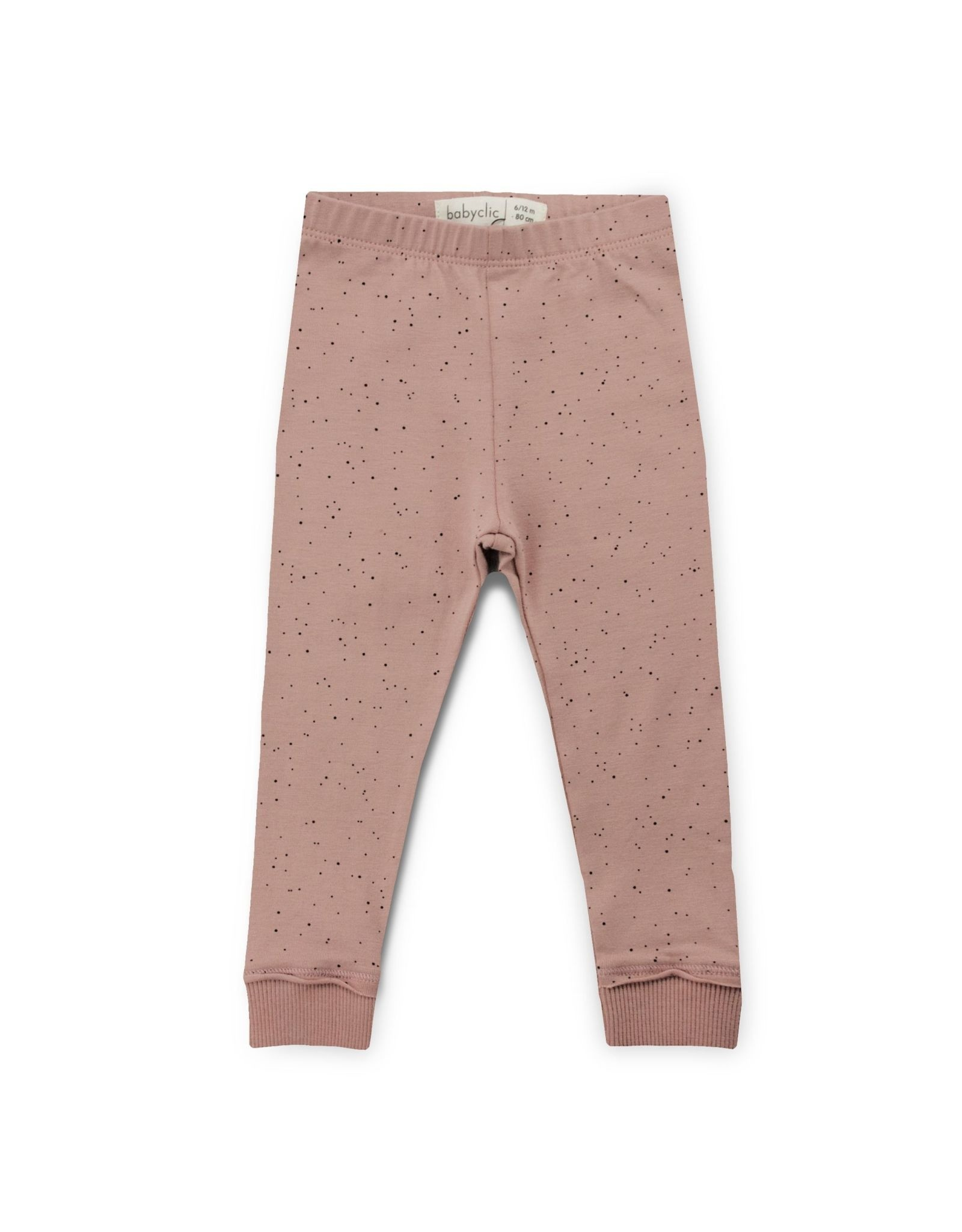 BabyClic sand leggings- blush