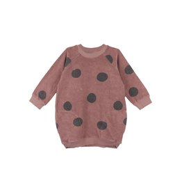 BabyClic geo dress- grape
