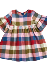 Pink Chicken ophelia dress- multi gingham