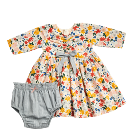 Pink Chicken lucy dress set- floral