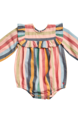 Pink Chicken quinn bubble- multi stripe