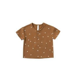 Quincy Mae henry top- walnut dot