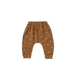 Quincy Mae harem pant- walnut dot