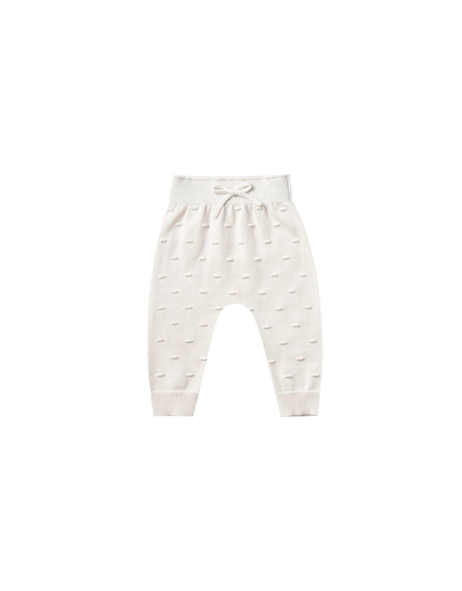 Quincy Mae knit pant- ivory