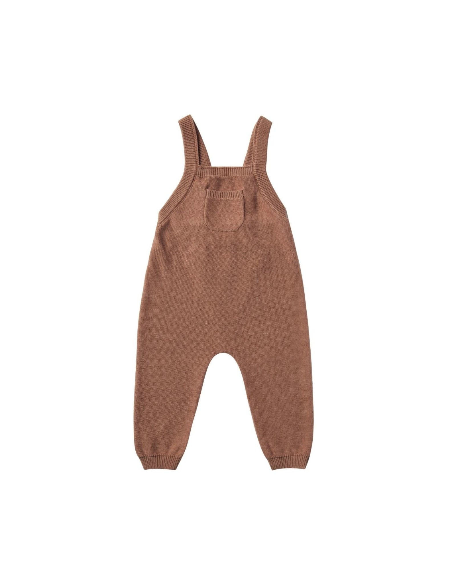 Quincy Mae knit overall- clay