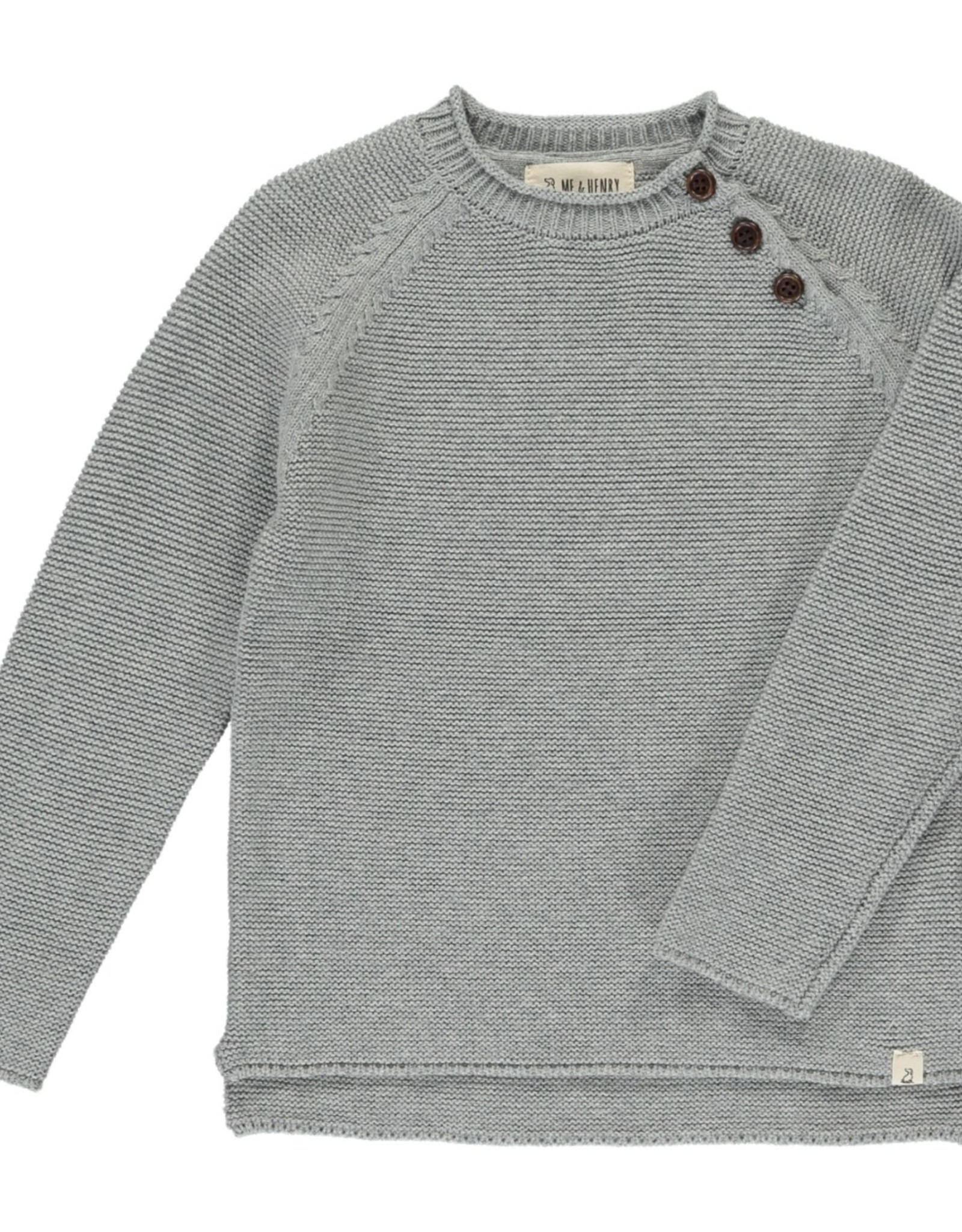 Me & Henry baby sweater- grey