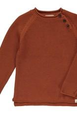 Me & Henry sweater- rust