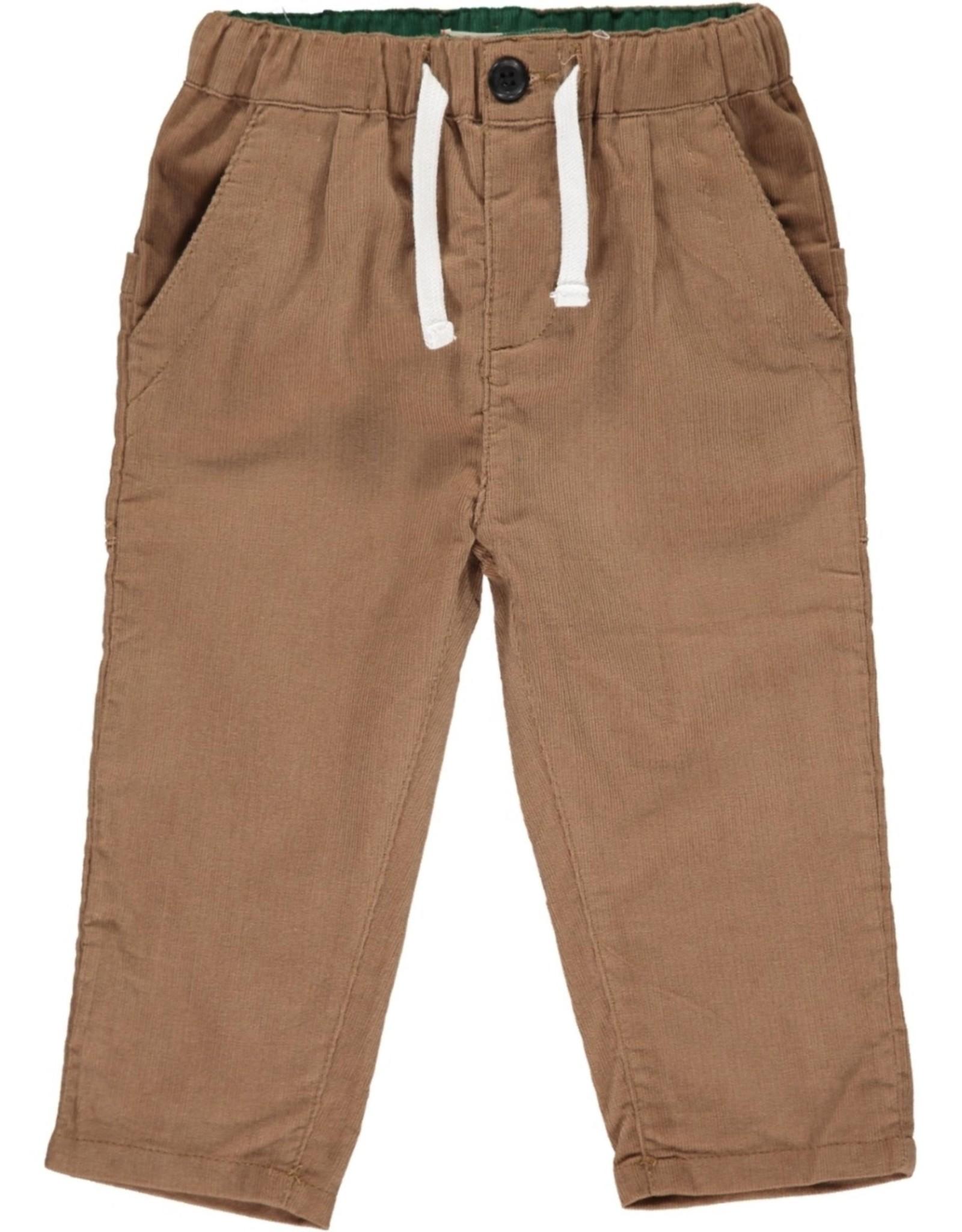 Me & Henry cord pant- brown