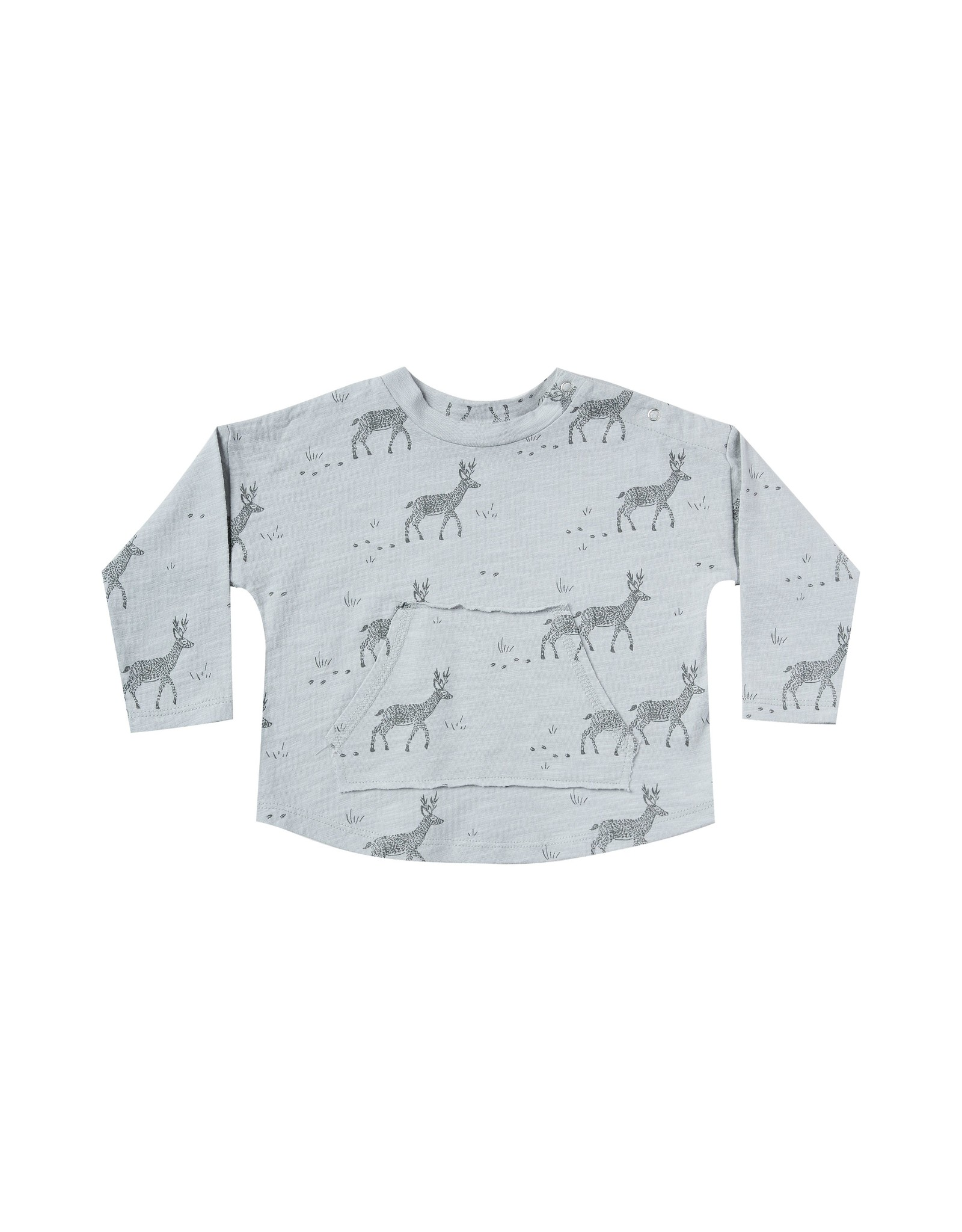 Rylee and Cru buck pouch tee