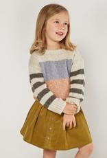 Rylee and Cru multi stripe- aspen sweater