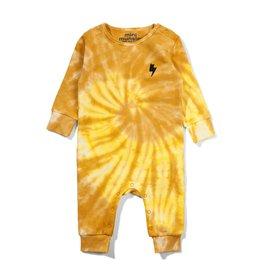 Munster Kids twister jumper- sulphur tie dye