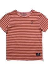 Munster Kids layers tee- dusty pink