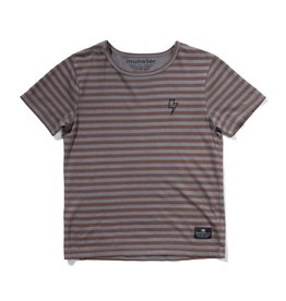 Munster Kids layers tee- charcoal
