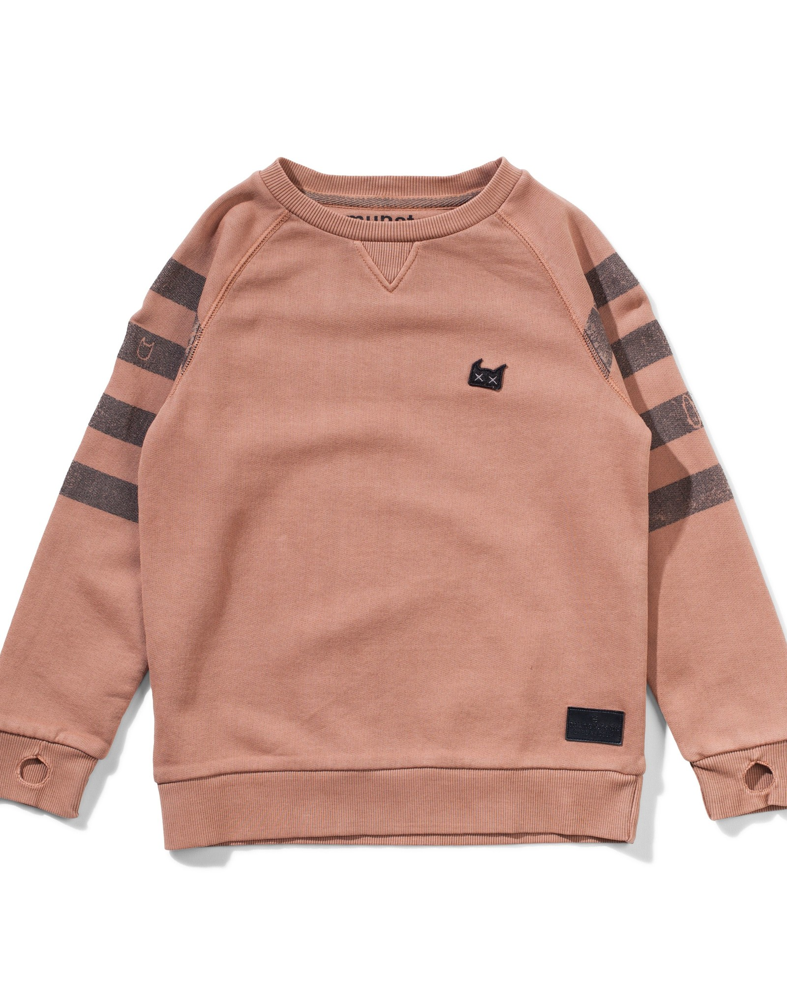 Munster Kids holiday crew- washed rust