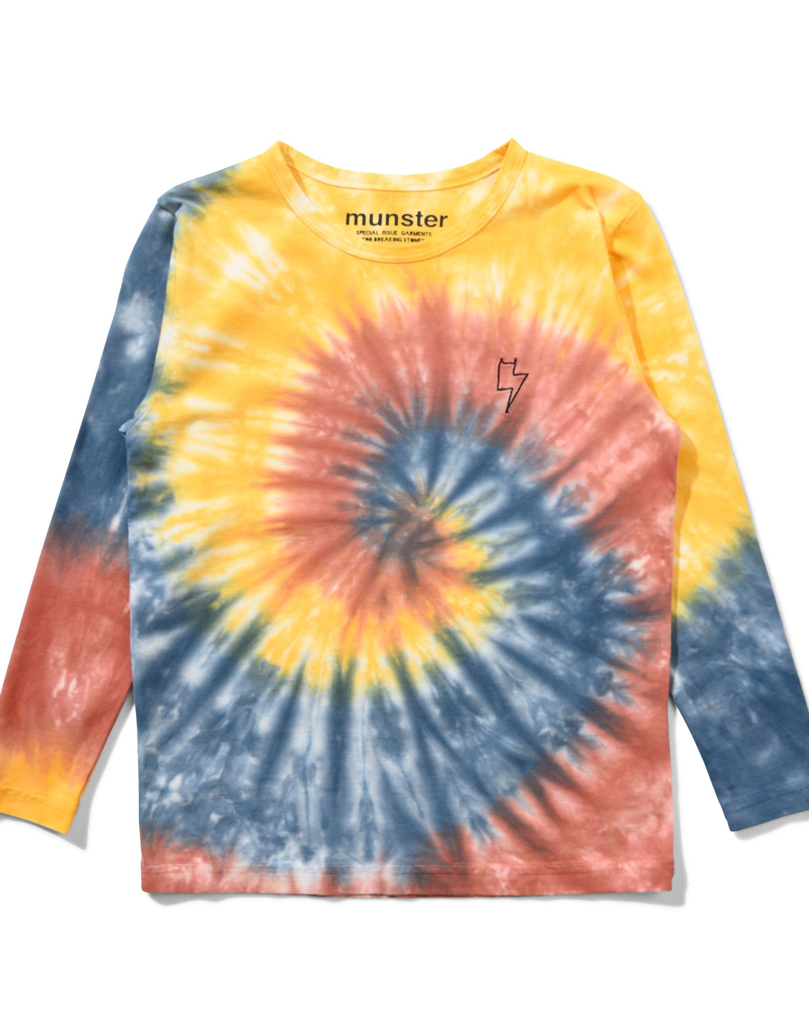 Munster Kids out of control l/s tee- rust dye