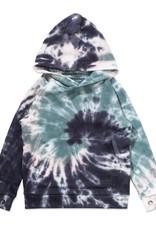 Munster Kids fizzer hoody- green dye