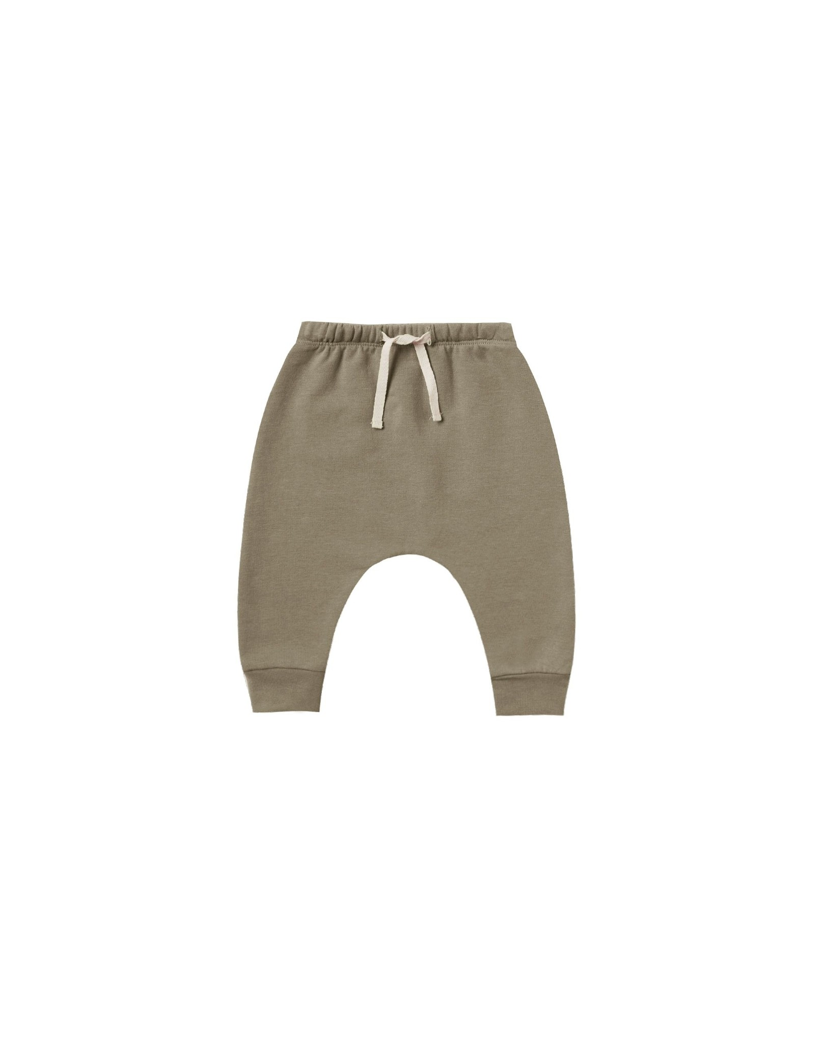 Quincy Mae fleece sweatpant- olive