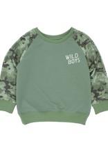 Feather 4 Arrow wild boys pullover- camo