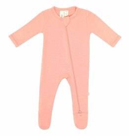Kyte Baby zippered footie- terracotta