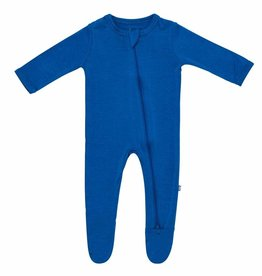 Kyte Baby zippered footie- sapphire