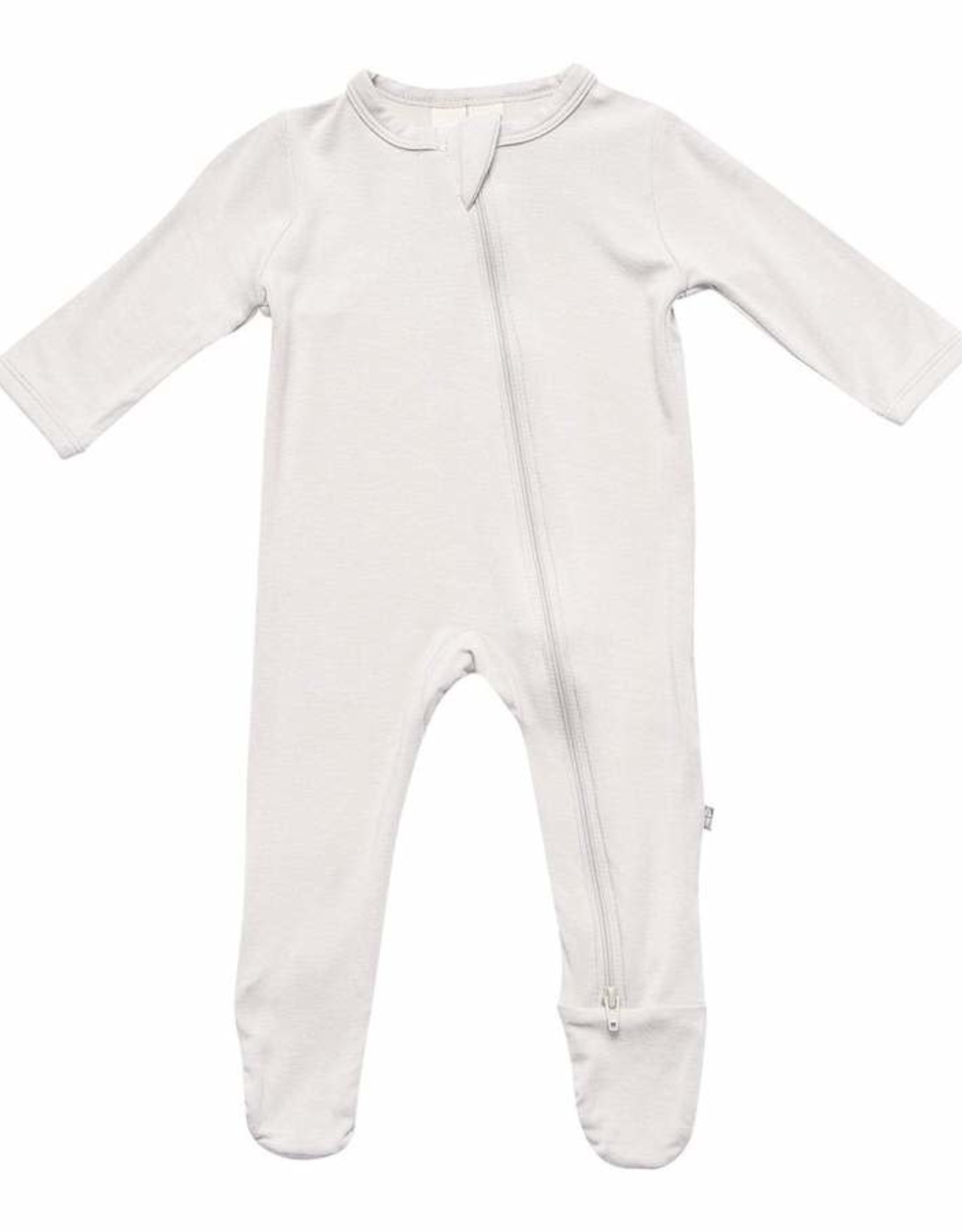 Kyte Baby zippered footie- oat