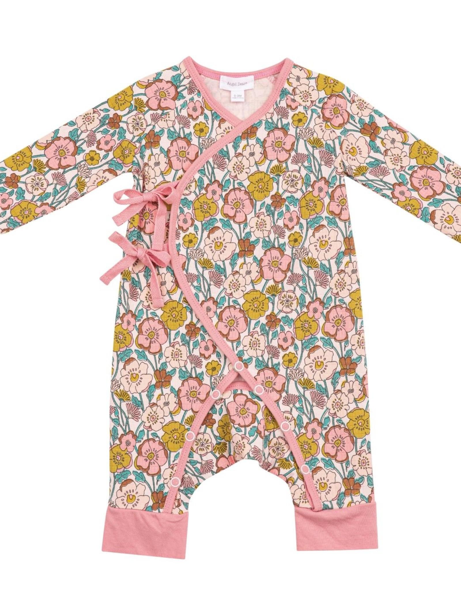 Angel Dear flower child wrap coverall
