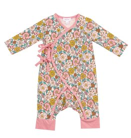 Angel Dear flower child wrap coverall