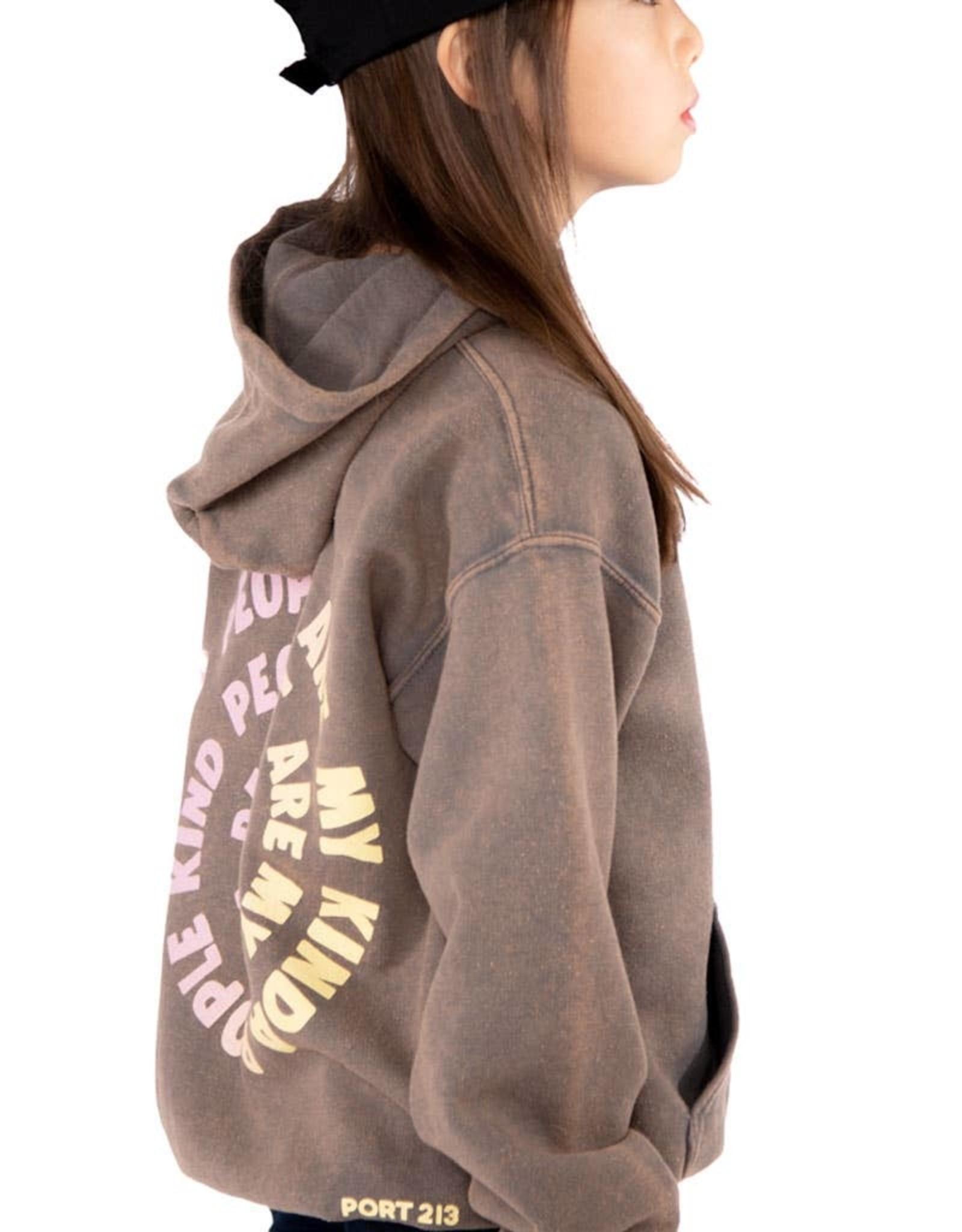 Port 213 kind people hoodie
