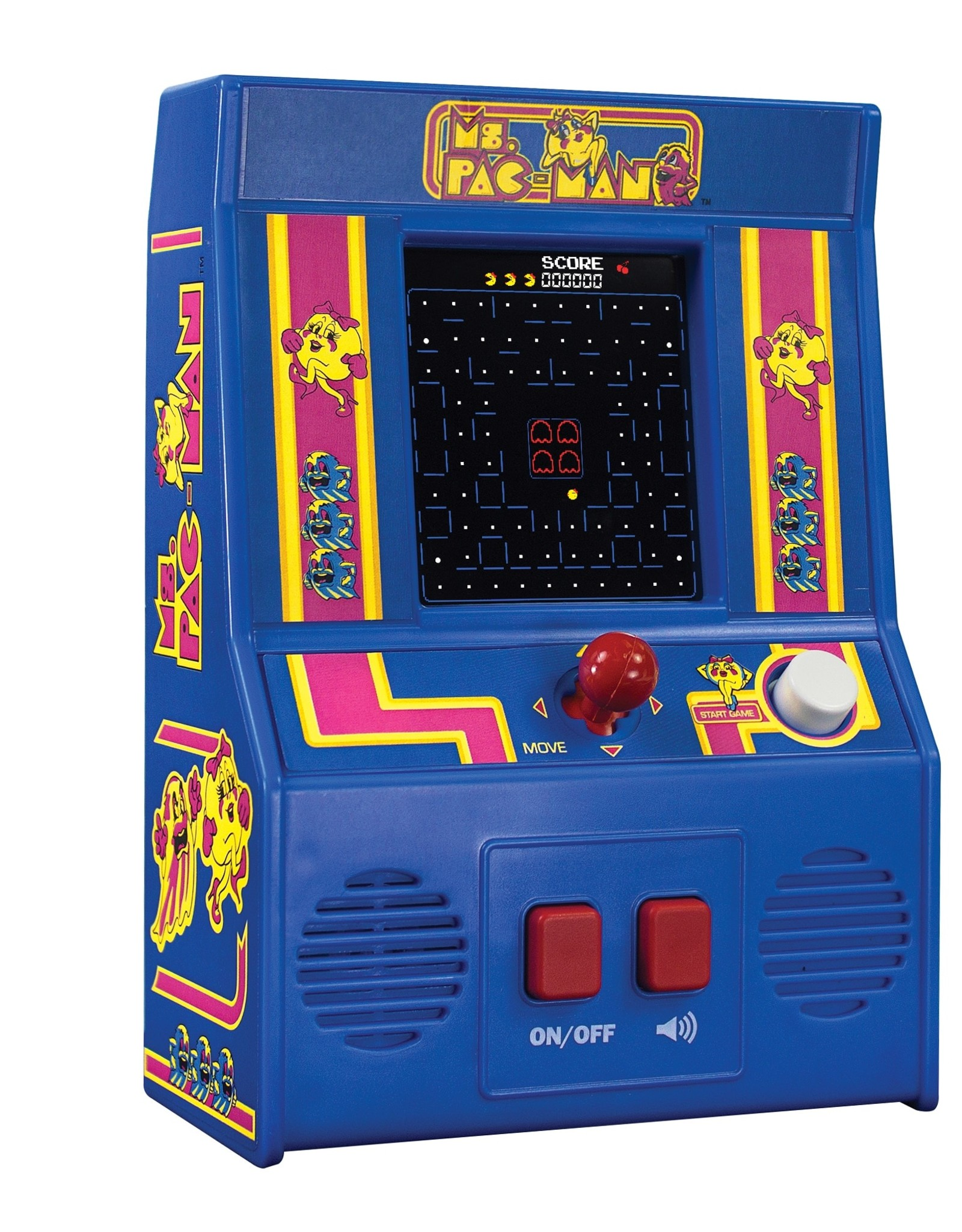 Schylling ms pac man mini arcade game