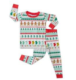 Little Sleepies fair isle pajamas