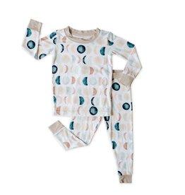 Little Sleepies neutral luna pajamas
