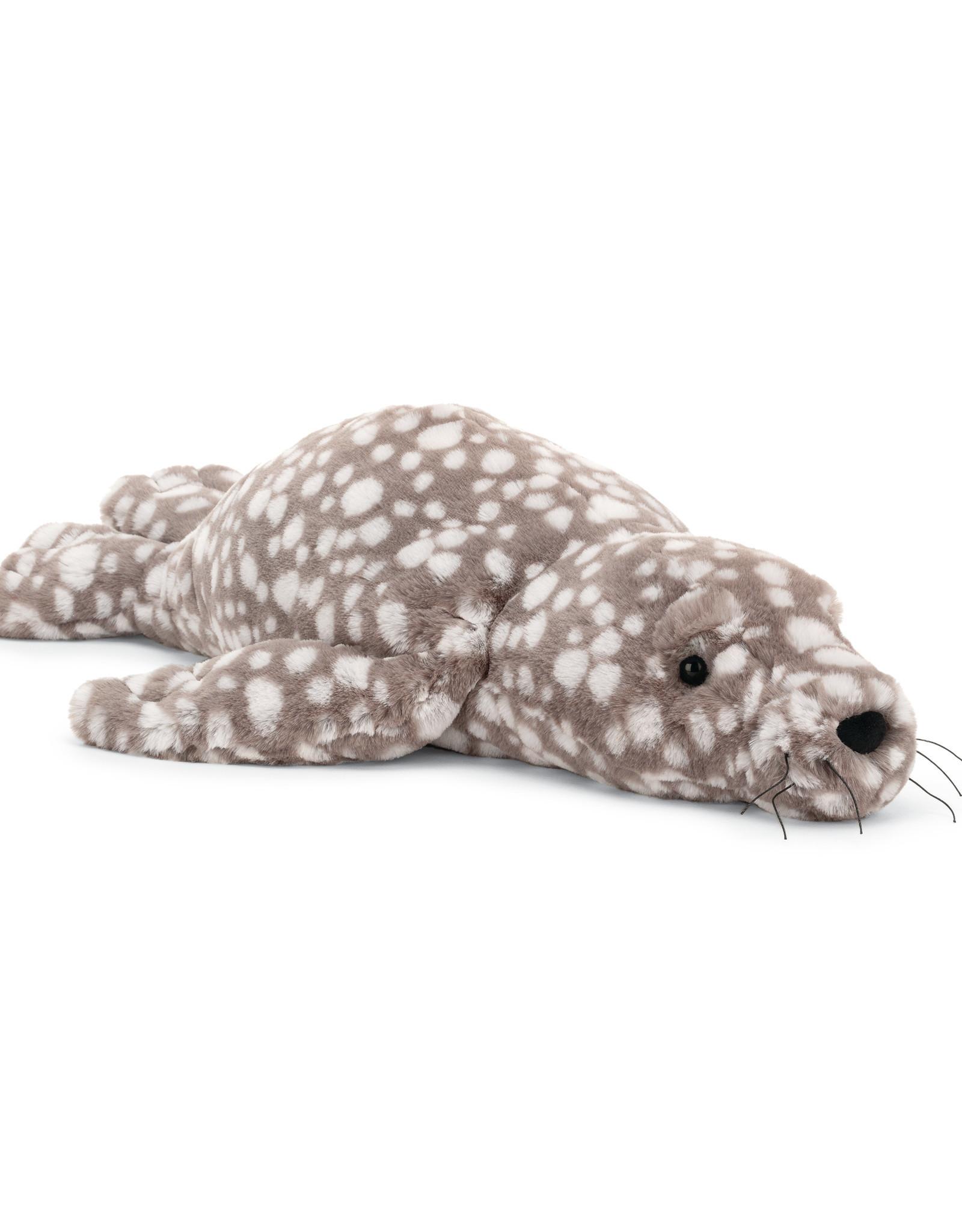 Jellycat linus leopard seal- little