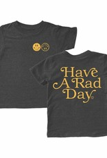 Tiny Whales have a rad day tee