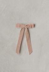 Noralee velvet bow- dusty rose
