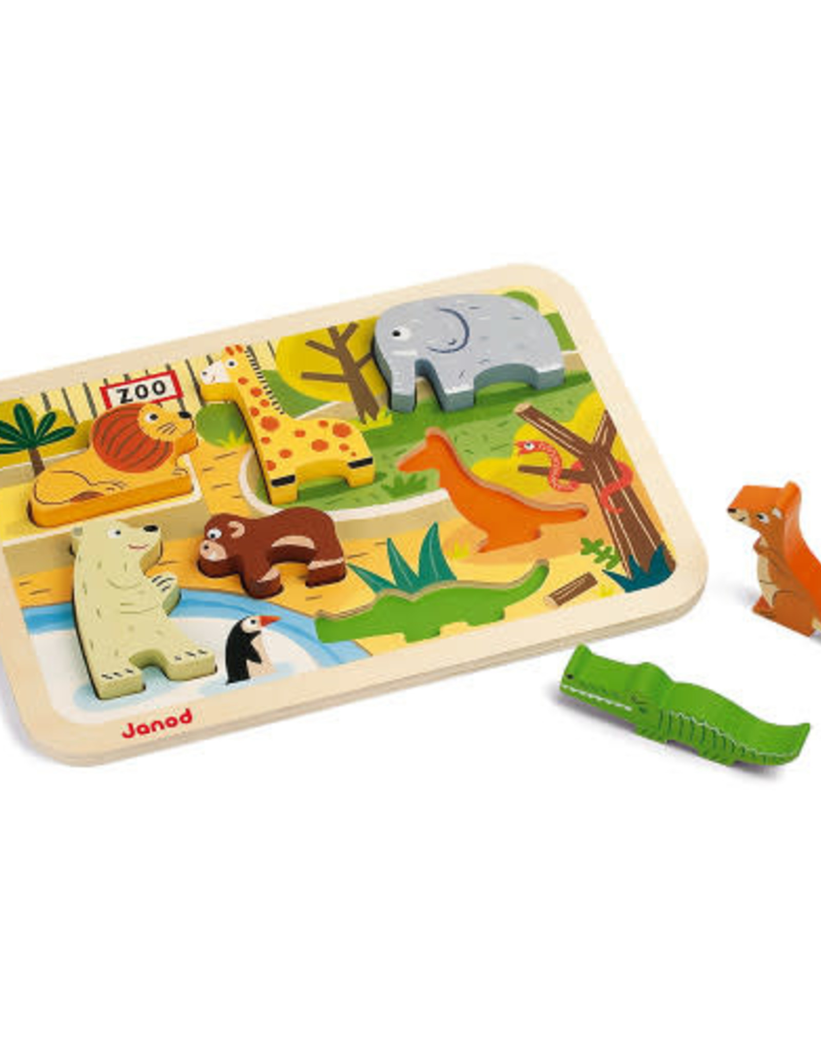 Janod chunky puzzle- zoo